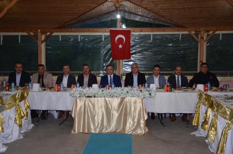 Sinop Valisi Boyabat İlçe Emniyet Müd. ile iftarda bir araya geldi