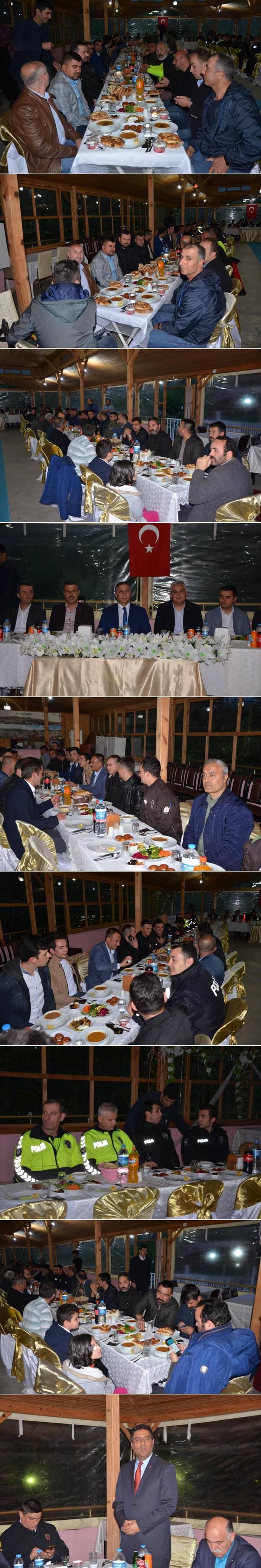 Sinop Valisi Köksal Şakalar Boyabat İlçe Emniyet Müdürlüğü Personeli ile iftarda bir araya geldi.