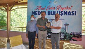 Ulusal Medyada Görev Yapan Gazeteciler, Boyabat'a Geldi.