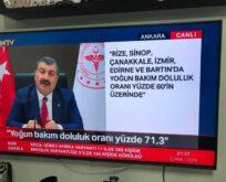 Sinop'ta gittikçe yükseliyor