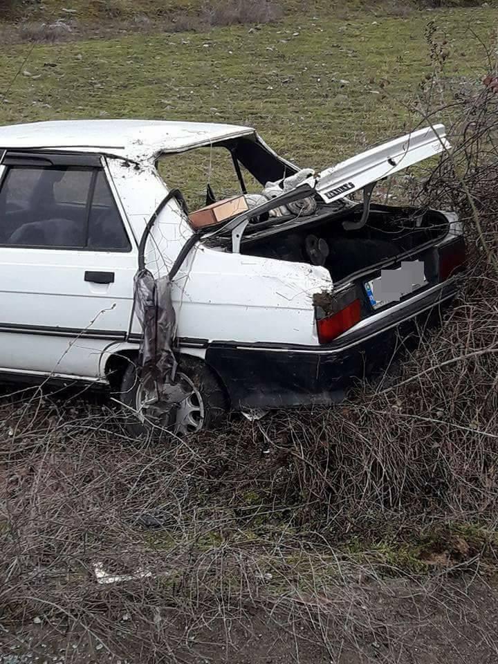 Trafik Kazası.1 Yaralı