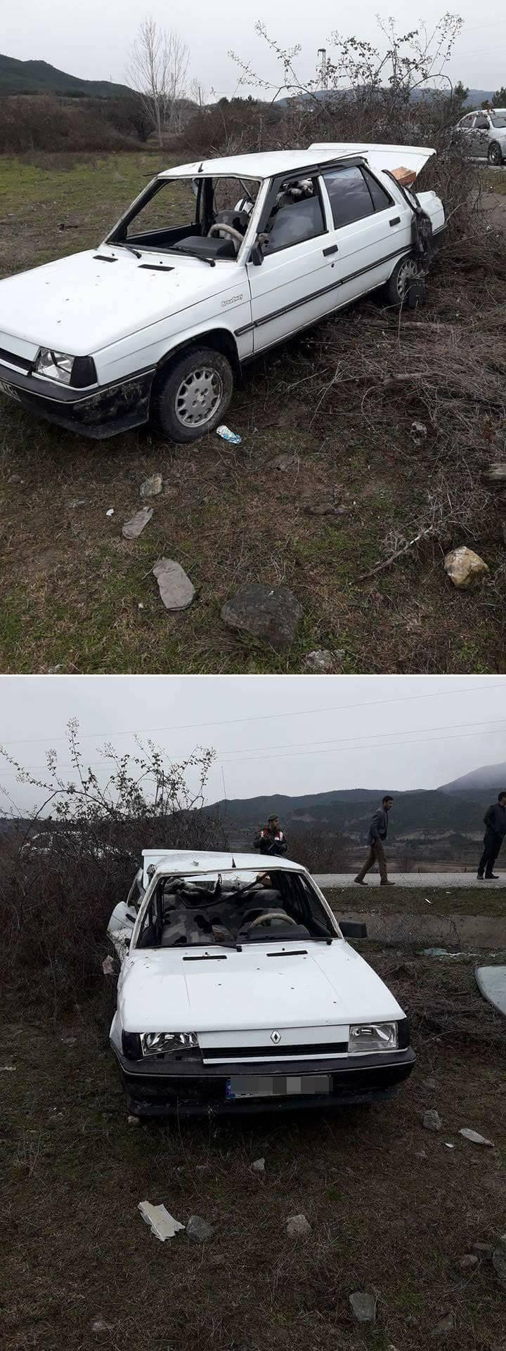 Durağan'da Trafik Kazası