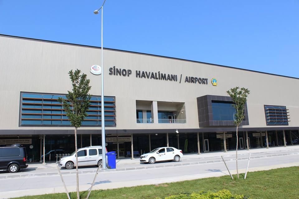 Sinop Havalanı Muhteşem Oldu