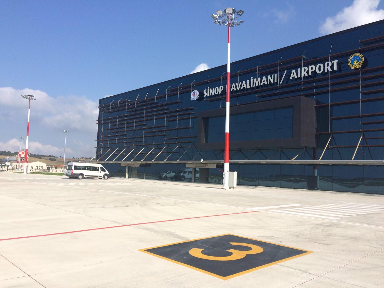 """Maviş """"Sinop Havalimanı Yeni Terminal Binasında Sona Gelindi"""""""