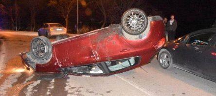 Sinop Karakum'da Trafik kazası