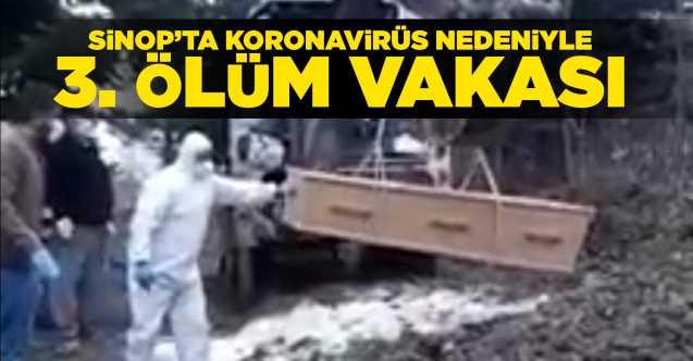 Sinop'ta koronavinüs nedeniyle 3. ölüm vakası