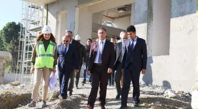 Sinop Valisi Köksal Şakalar 112 Acil Çağrı Merkezi İnşaatında İncelemelerde Bulundu
