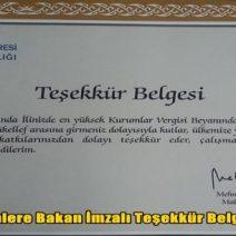 Vergi Rekortmenleri Ödüllendirildi
