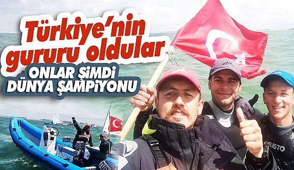 Sinoplu Antrenörün Takımı Dünya Şampiyonu