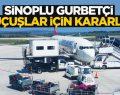 Sinop'lu gurbetçi direkt Uçuş için kararlı
