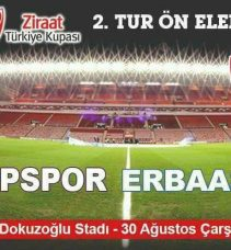 Sinopspor'un Rakibi belli oldu.