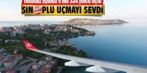 Sinop'ta 9 Bin Kişi Uçtu