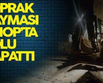 Sinop-Boyabat Karayolunda Toprak Kayması