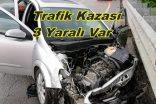 Genç Komiser Trafik Kazası Geçirdi 3 Yaralı
