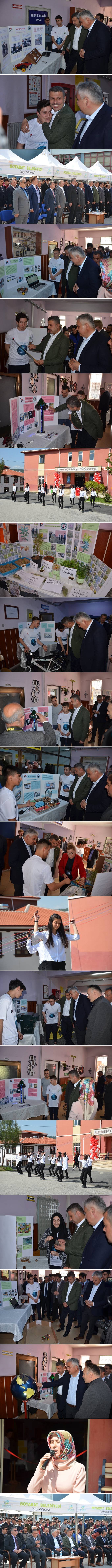 Boyabat Mesleki ve Teknik Anadolu Lisesi tarafından bugün saat 10.00'da Tübitak 4006 Bilim Fuarı'nın açılışı gerçekleştirildi.
