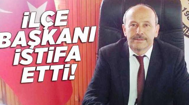 İYİ Parti İlçe Başkanı İstifa Etti