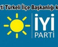 İyi Parti Türkeli İlçe Başkanlığı Kuruldu