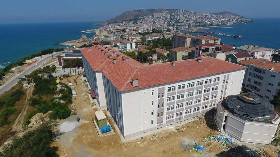 Sinop'ta 4 Büyük Eğitim Yatırımı Hızla Tamamlanıyor