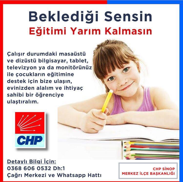 """""""BEKLEDİĞİ SENSİN EĞİTİMİ YARIM KALMASIN"""