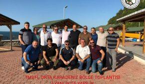 Veteranlar Futbol Fed. Toplantısı Ayancık'ta Yapıldı