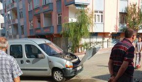 Yıldız Mahallesinde Trafik Kazası