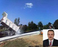 Boyabat'ta Asfaltsız Köy yolu Kalmayacak